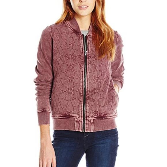 RVCA Jackets & Blazers - NWOT RVCA Bloom Bomber Jacket
